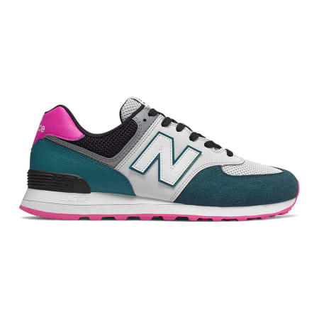 new balance mujer verde oscuro